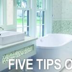 Five Tips on Tile