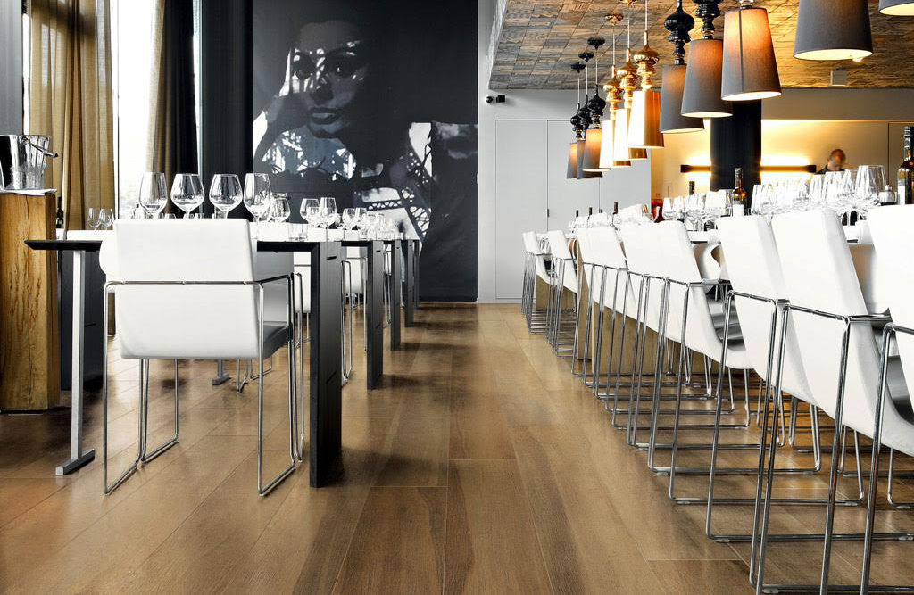 maxiwood at villagio tile and stone - Porcelain Tile Restaurant 2015