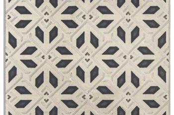Avery Petite Pattern Charcoal on Limestone