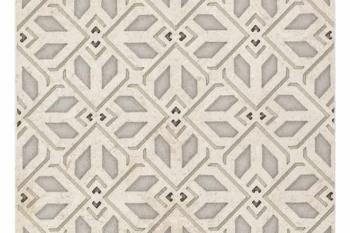 Avery Petite Pattern Latte on Limestone
