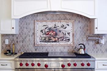 Cynara Kitchen Mural