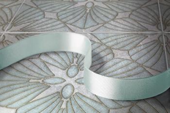 D'Orsay Aquamarine Silver Luster