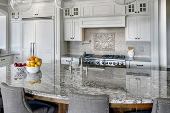 Marcelino Kitchen - Alabaster (Carrara)