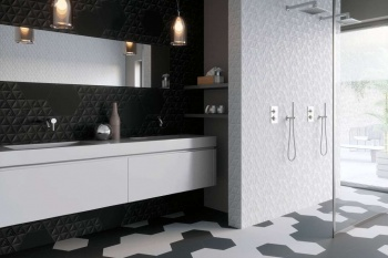ALMO: TRIANGULO BLACK/WHITE HEXAGON
