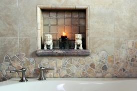 Random Tile - Beige Marble and Quartz