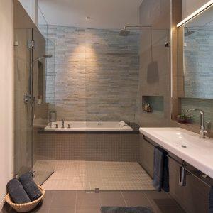 modern bathroom tiles