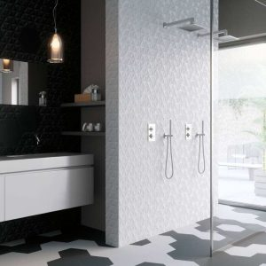Modern bathroom tile store in Phoenix