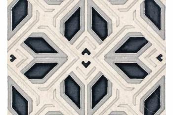 Avery Grand Pattern Charcoal on Limestone