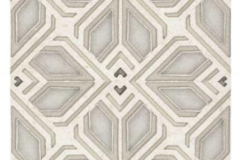 Avery Grand Pattern Latte on Limestone